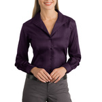 TT4 Ladies Herringbone Non Iron Button Down Shirt